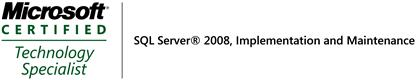 MCTS SQL Server 2008 Implementation and Maintenance